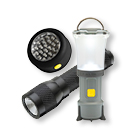 Lys, lygter og lamper er nødvendigt i mørket (foto: eventyrsport.dk)
